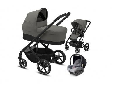 Universalus vežimėlio komplektas 3in1 Cybex Balios S Lux Soho Grey / Black