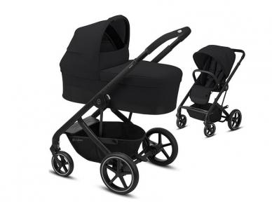 Universalus vežimėlio komplektas 2in1 Cybex Balios S Lux Deep Black / Black