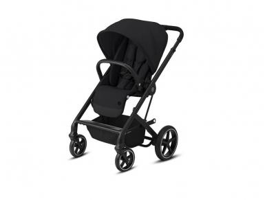 Universalus vežimėlio komplektas 2in1 Cybex Balios S Lux Deep Black / Black  2