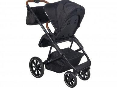 Universalus vežimėlio komplektas 2in1 Muuvo SLICK Black XL lopšys 3