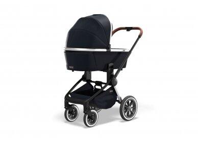 Universalus vežimėlio komplektas Moon Resea S Edition 2 in 1 Navy 4