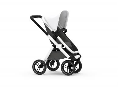 Universalus vežimėlis Dubatti 2in1 White/Melange black/White 5