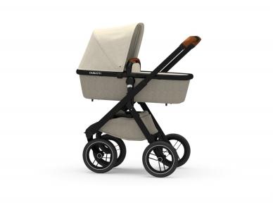 Universalus vežimėlis Dubatti 2in1 Black/Melange Taupe/Melange Sand 4