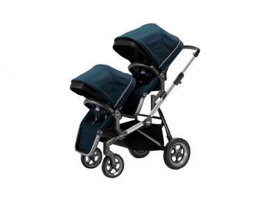 Universalus vežimėlis pametinukams Thule Sleek 2in1 navy blue