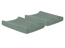 Vystymo lentos paklodės Ash Green  50x70cm 2vnt Jollein